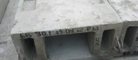 Вентиляционный блок железобетонный БВ 30-1