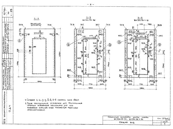 шахты пассажирского лифта размеры